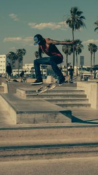 Skateboard Wallpaper poster