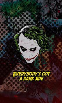 The Joker Wallpapers Poster Apk Screenshot