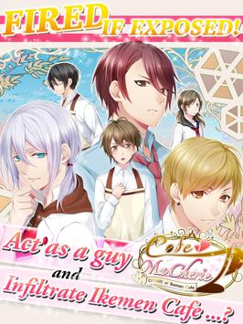 OTOME of Ikemen cafe poster