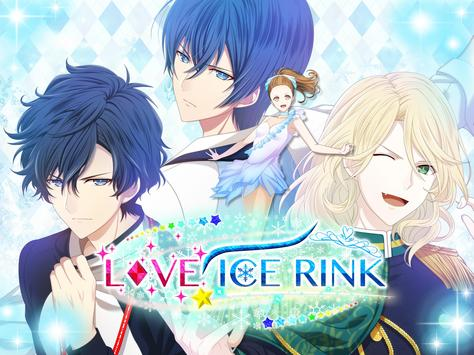 Love Ice Rink | Otome Dating Sim Otome game poster