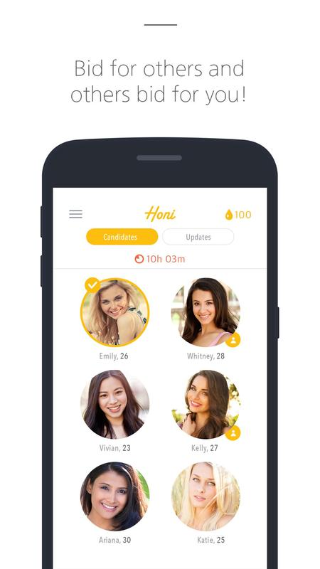 Dating auction app