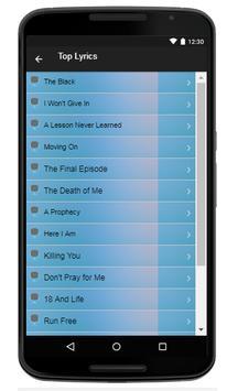 Asking Alexandria Song & Lyrics apk screenshot