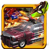 Death Race Desert Drive Fever icon