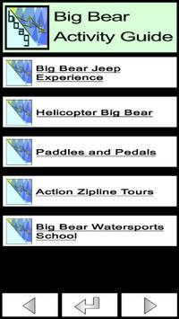 Big Bear Activity Guide apk screenshot