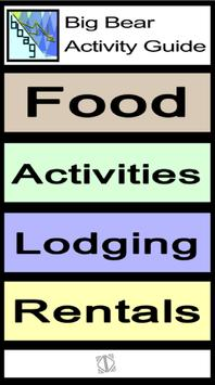 Big Bear Activity Guide poster