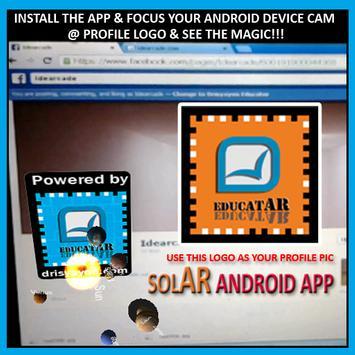 SolAR FB Profile App apk screenshot