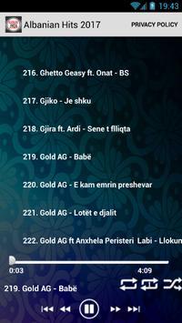 Albanian Hits / Muzik shqip screenshot 3