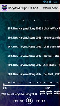 Haryanvi SuperHits Songs screenshot 4