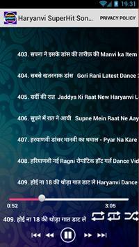 Haryanvi SuperHits Songs screenshot 5