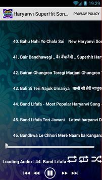 Haryanvi SuperHits Songs poster