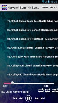 Haryanvi SuperHits Songs screenshot 1