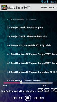 Muzik Shqip 2017 screenshot 1