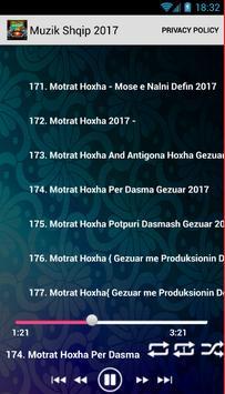Muzik Shqip 2017 screenshot 4