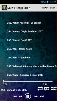 Muzik Shqip 2017 screenshot 5