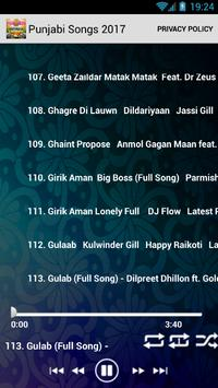 Punjabi Songs 2017 New mp3 screenshot 2