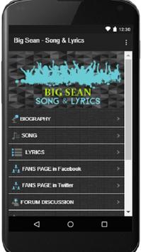 Big Sean - Best Song and Lyrics poster