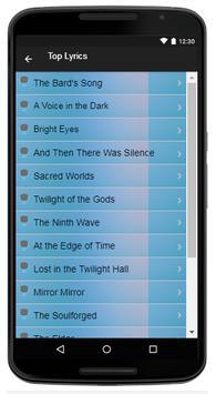 Blind Guardian Song & Lyrics screenshot 3