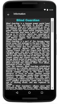 Blind Guardian Song & Lyrics screenshot 2