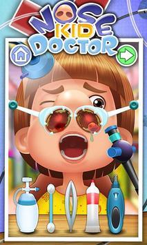Nose Doctor - Free games screenshot 1