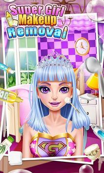 Super Girl Makeup Removal apk screenshot