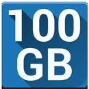 100 GB Free Cloud Drive from Degoo icon