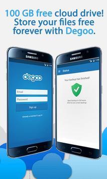 100 GB Free Cloud Drive from Degoo poster