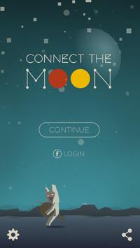 Connect The Moon الملصق