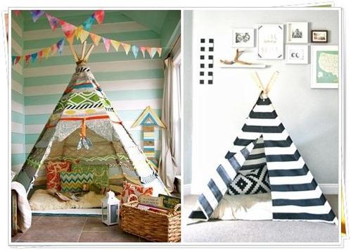 DIY Tent Camp for Children poster
