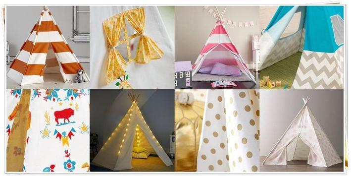 DIY Tent Camp for Children screenshot 1