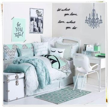 Feminine Girl Bedroom Inspiration poster