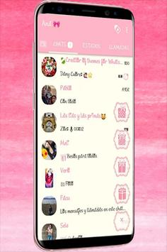 WA Theme Pink Terbaru screenshot 1