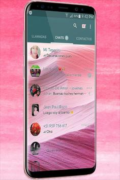 WA Theme Pink Terbaru screenshot 2