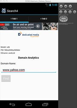 Search4 Online Ranking apk screenshot