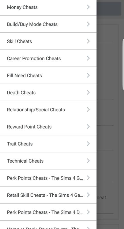 the sims 4 promotion cheat