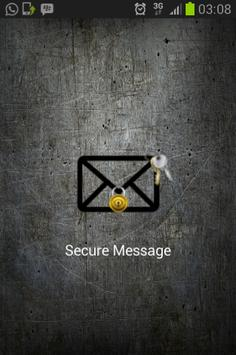 Secure Message poster