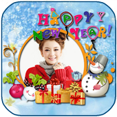 happy new year 2015 frame icon
