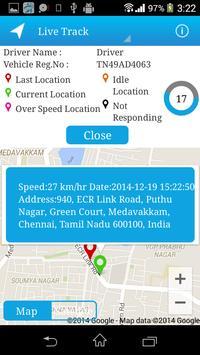 Deemsys GPS screenshot 2