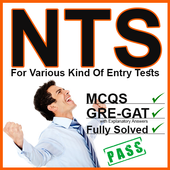 NTS Jobs Test Preparation:NTS MCQs:GRE-GAT Solved icon