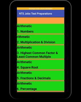 NTS Jobs Test Preparation:NTS MCQs:GRE-GAT Solved screenshot 10