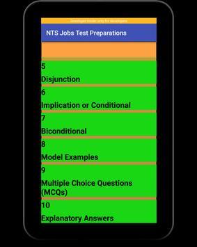 NTS Jobs Test Preparation:NTS MCQs:GRE-GAT Solved screenshot 11