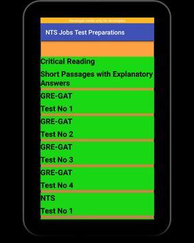 NTS Jobs Test Preparation:NTS MCQs:GRE-GAT Solved screenshot 12