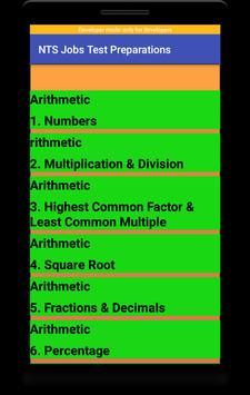 NTS Jobs Test Preparation:NTS MCQs:GRE-GAT Solved screenshot 3