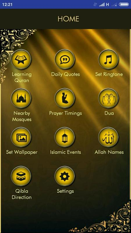 Prayer times qibla and hadees for android apk download.