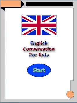 English Conversation For Kids poster