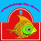 Fishing In Sea icon