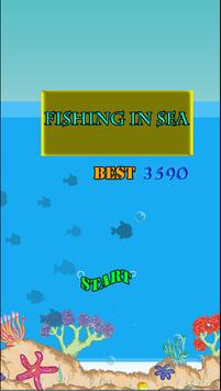 Fishing In Sea poster