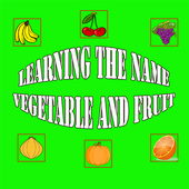 Learn Name Vegetable And Fruit icon