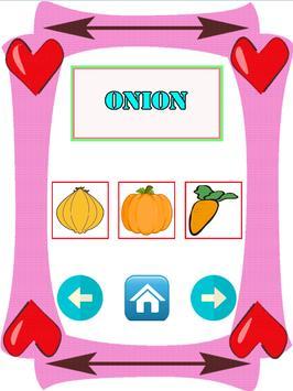 Learn Name Vegetable And Fruit screenshot 2