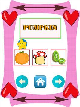 Learn Name Vegetable And Fruit screenshot 3
