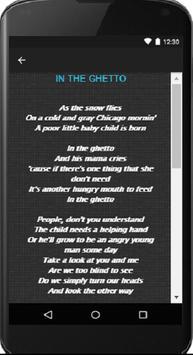 Elvis Presley - Song & Lyrics apk screenshot